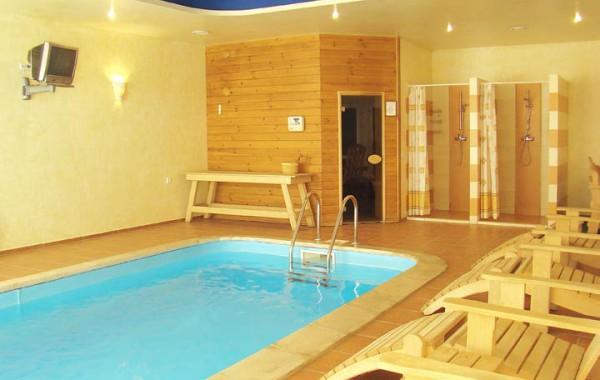 Дизайн сауны с бассейном фото